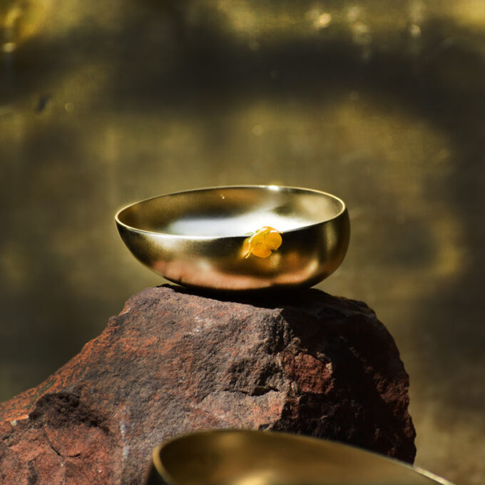 Brass Bowman Bowls (Matt)