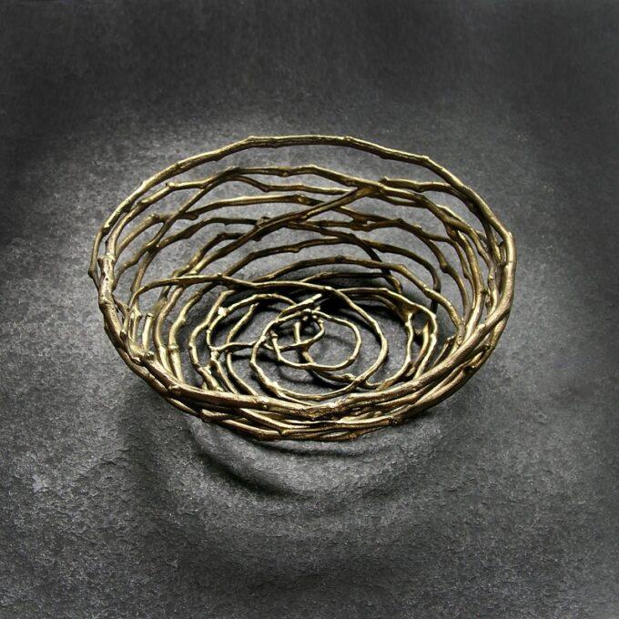 The Brass Nest Bowl