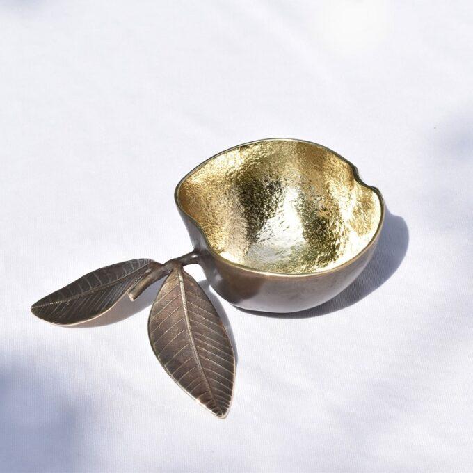 The Brass Apple Bowl